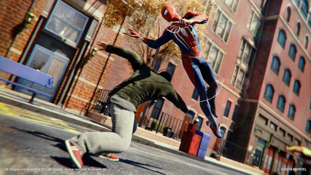 Spider-Man от Insomniac: отличный клон Arkham