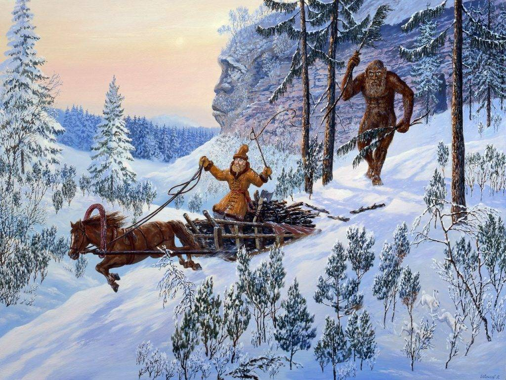 Самые опасные существа из славянской мифологии 8