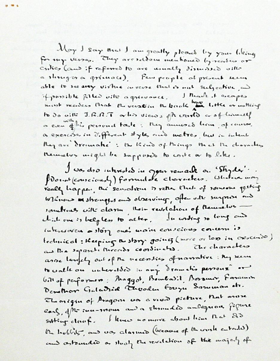 Книжный дилер продаёт письмо Толкина к читательнице за 48 тысяч долларов 3
