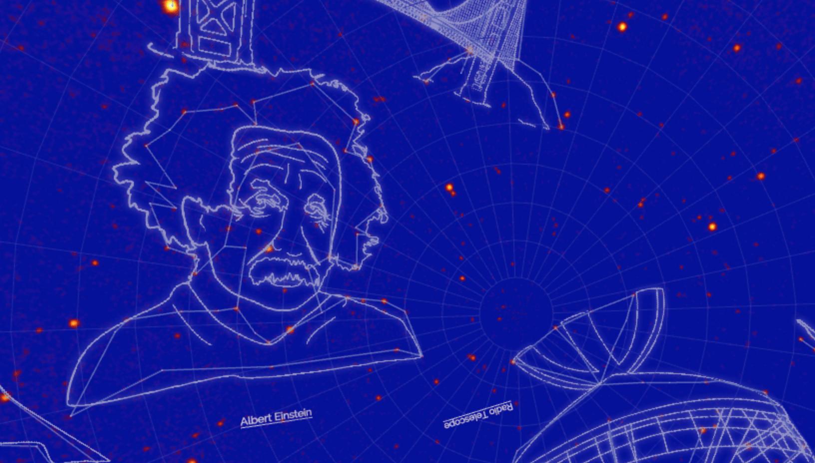 Учёные NASA составили карту гик-созвездий 1