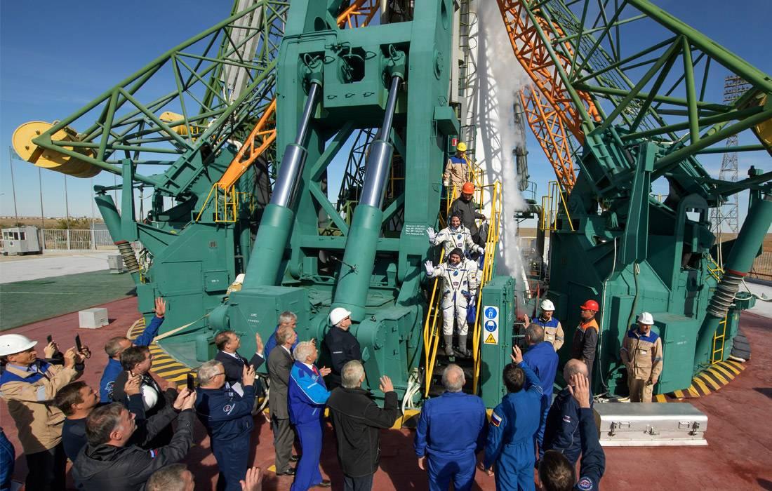 При запуске корабля «Союз МС-10» произошла авария