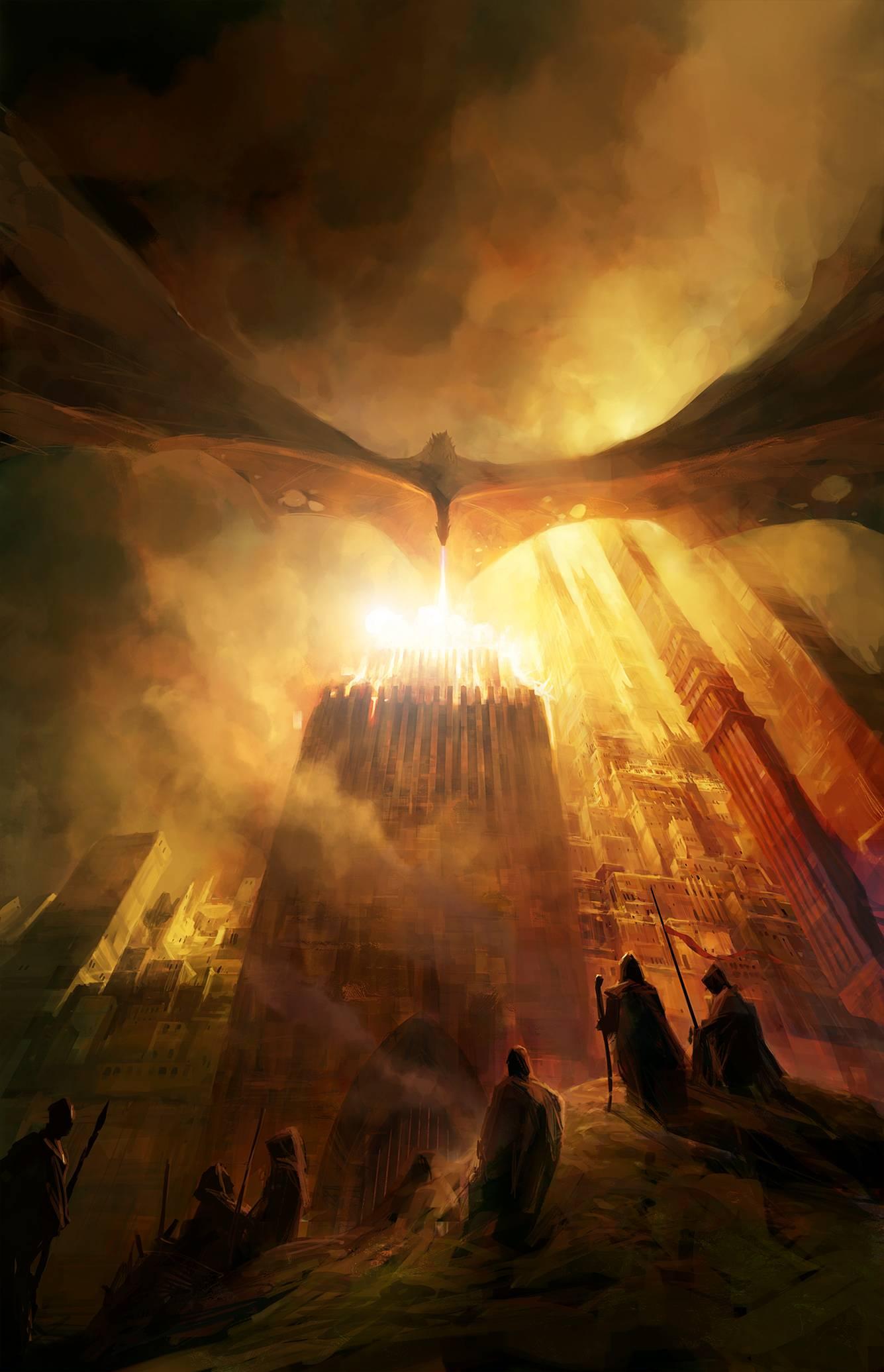 Джордж Мартин «Пламя и кровь. Том 1. Кровь драконов»