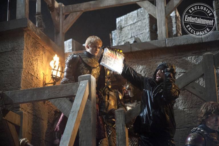 Entertainment Weekly поделился кадрами со съёмок «Игры престолов» 3