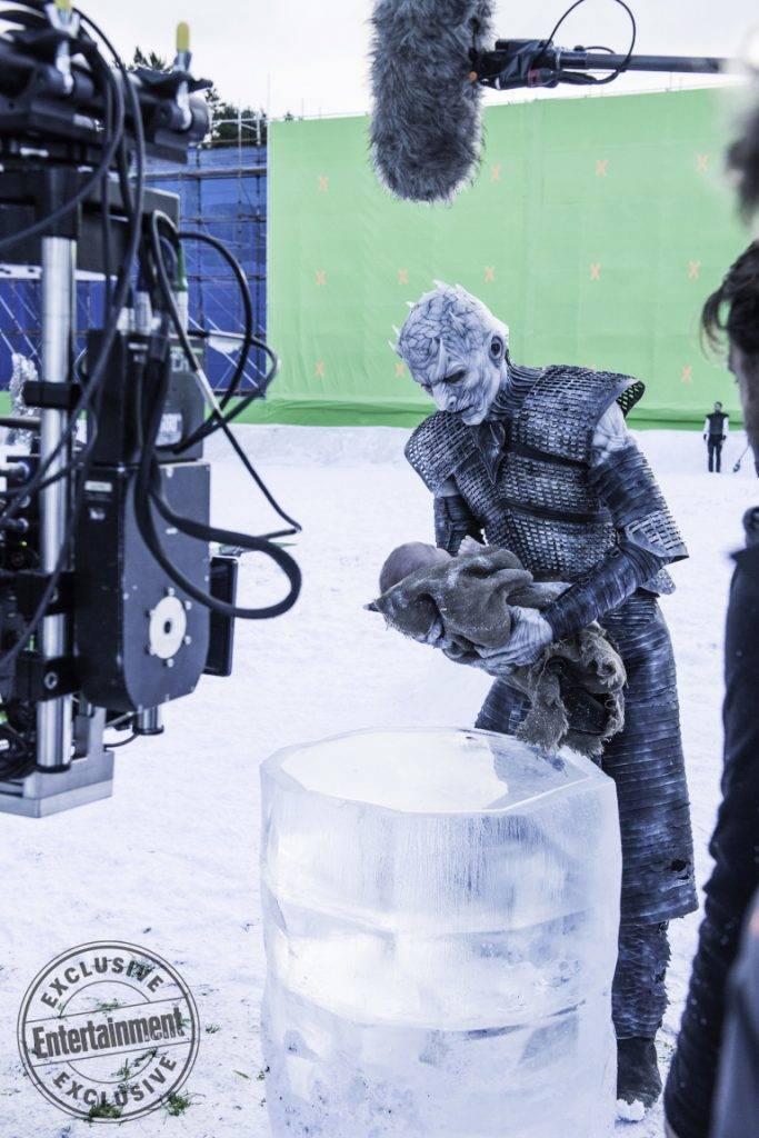 Entertainment Weekly поделился кадрами со съёмок «Игры престолов» 4