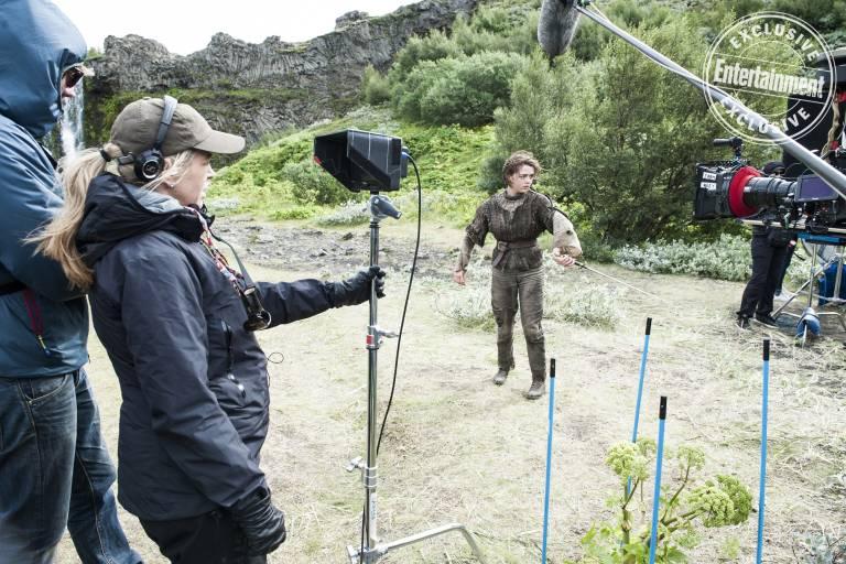 Entertainment Weekly поделился кадрами со съёмок «Игры престолов» 6