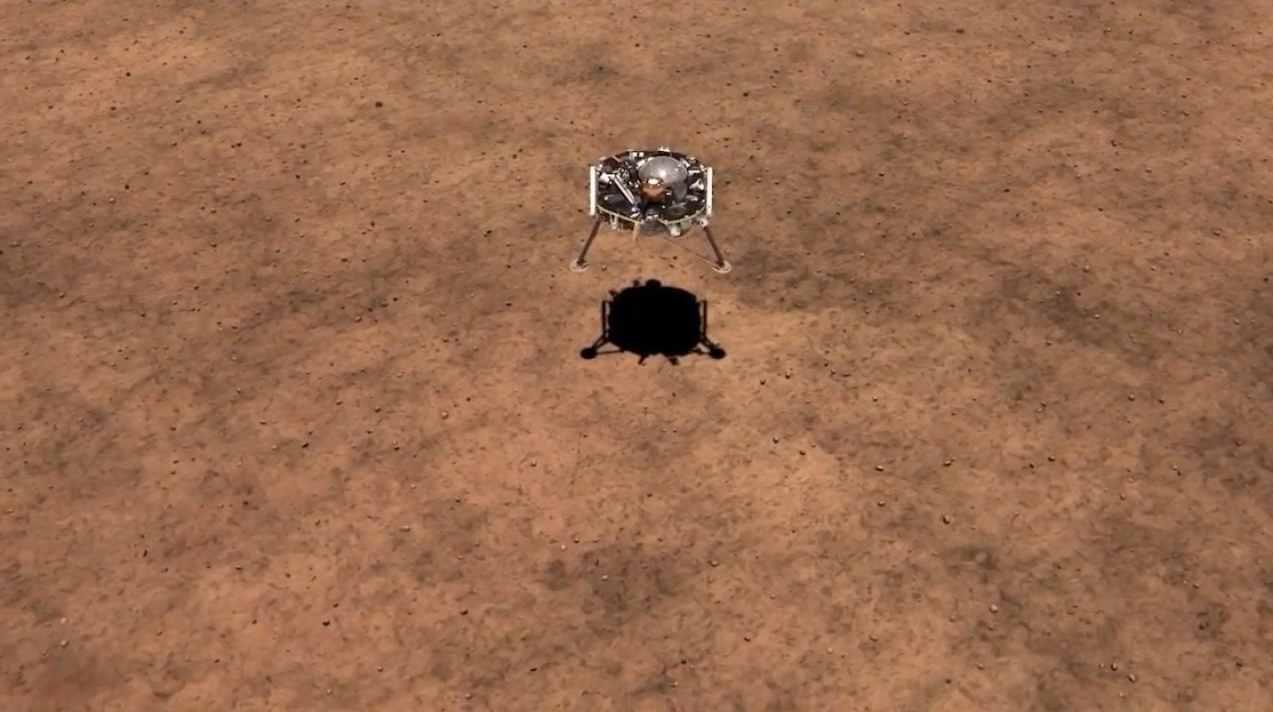InSight совершил успешную посадку на Марсе