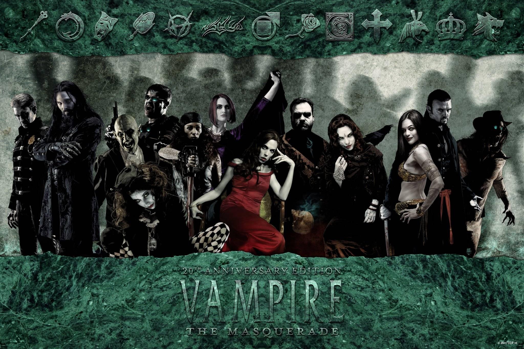Возвращение в мир ночи: обзор книги правил Vampire: The Masquerade V20 3