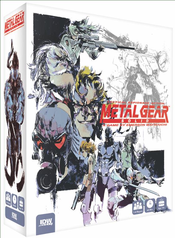 IDW Games выпустить настолку по игре Metal Gear Solid