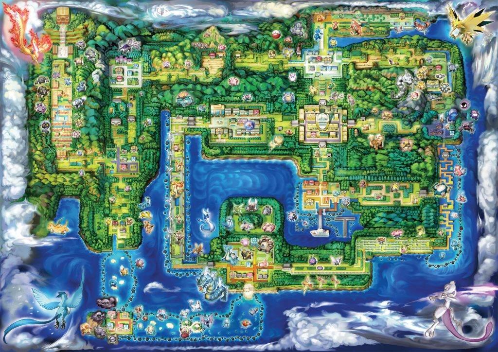 Пикачу, Иви, Слоупок. Обзор Pokémon: Let's Go 1