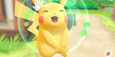 Пикачу, Иви, Слоупок. Обзор Pokémon: Let's Go