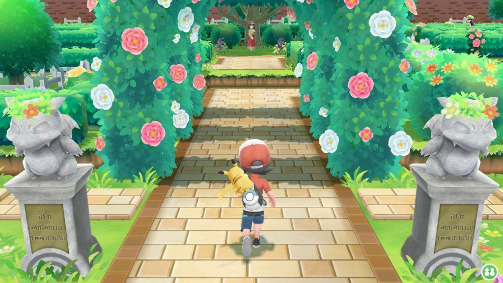 Пикачу, Иви, Слоупок. Обзор Pokémon: Let's Go 3