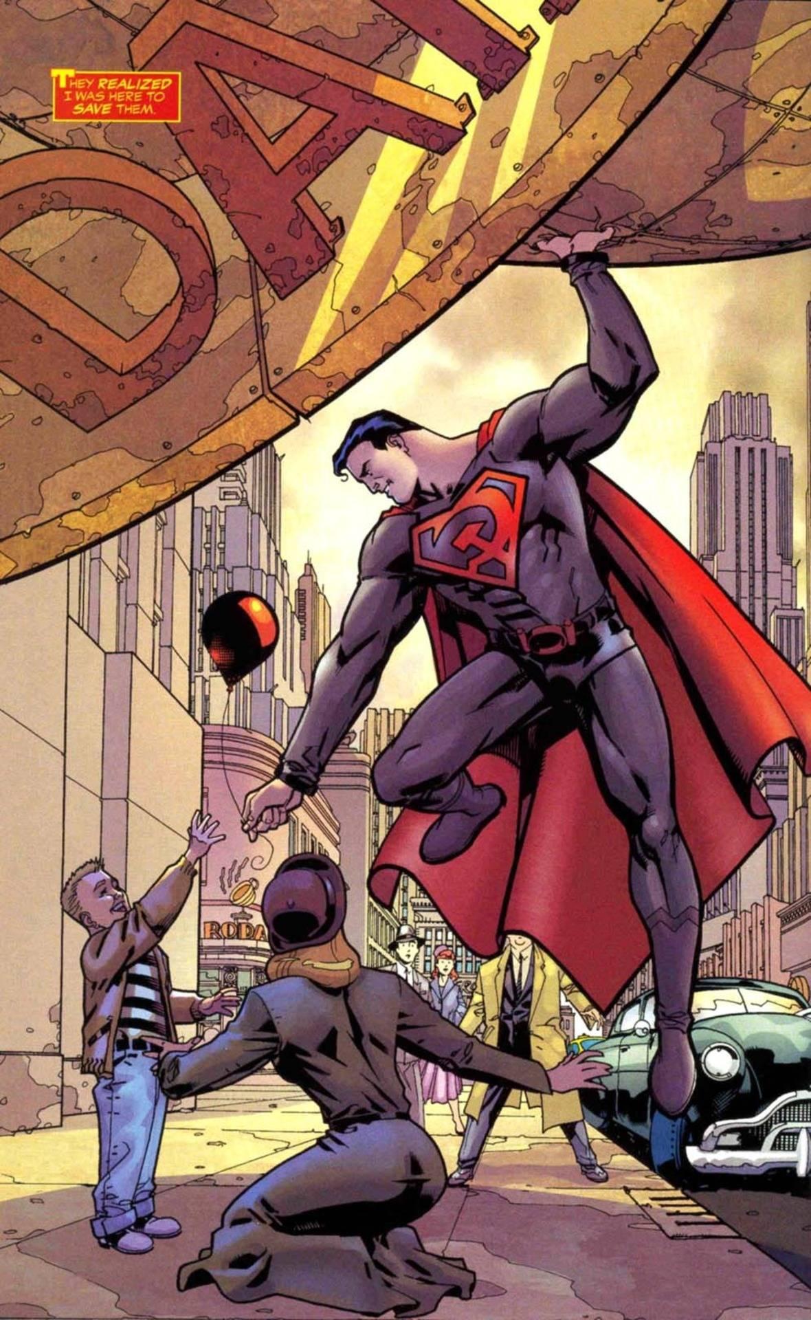 Если бы супергерои правили государством 8