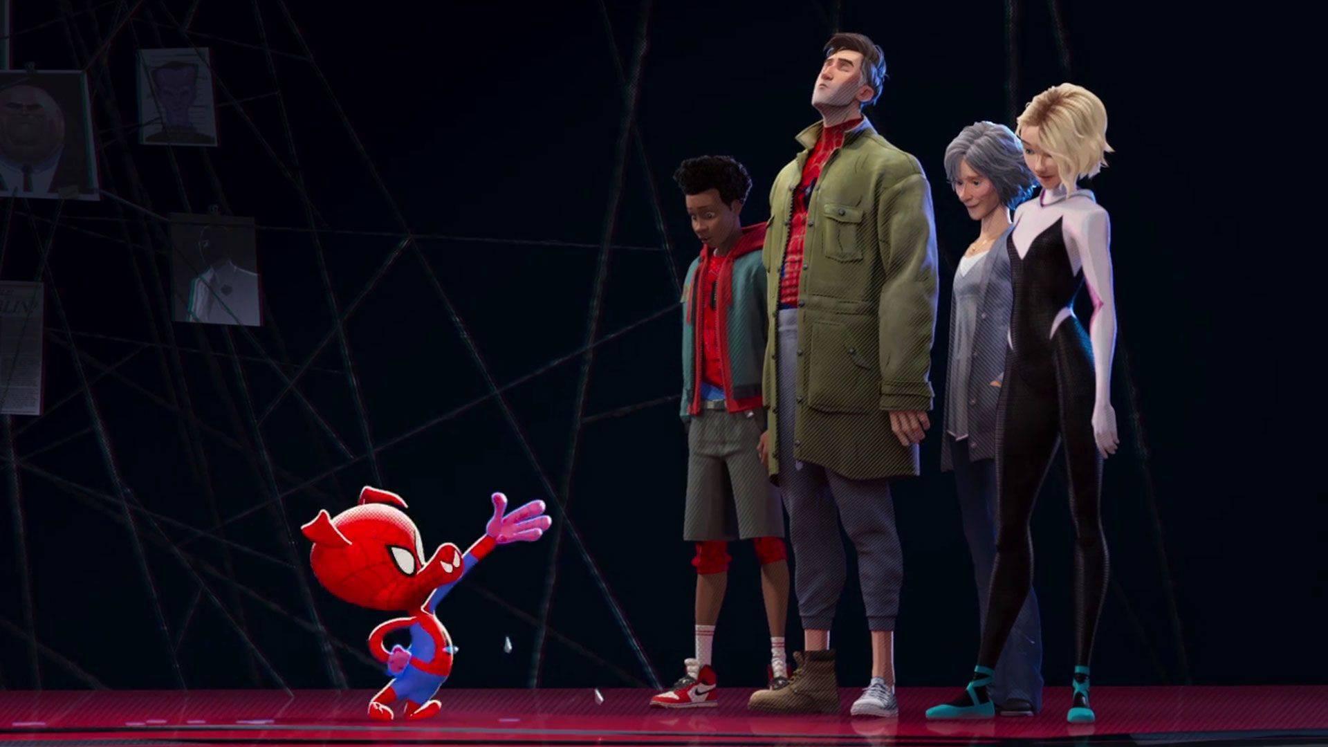 «Человек-Паук: Через вселенные»: шесть Пауков против коллайдера 2