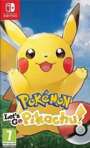 Пикачу, Иви, Слоупок. Обзор Pokémon: Let's Go 7