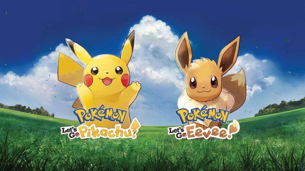 Пикачу, Иви, Слоупок. Обзор Pokémon: Let's Go 8