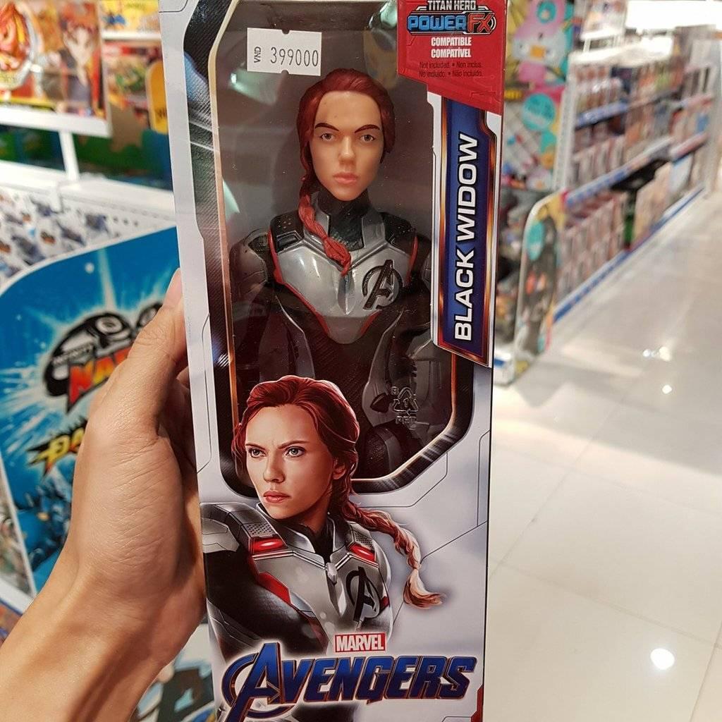 Утечка: игрушки по «Мстителям: Финал» тизерят возвращение «мёртвого» героя