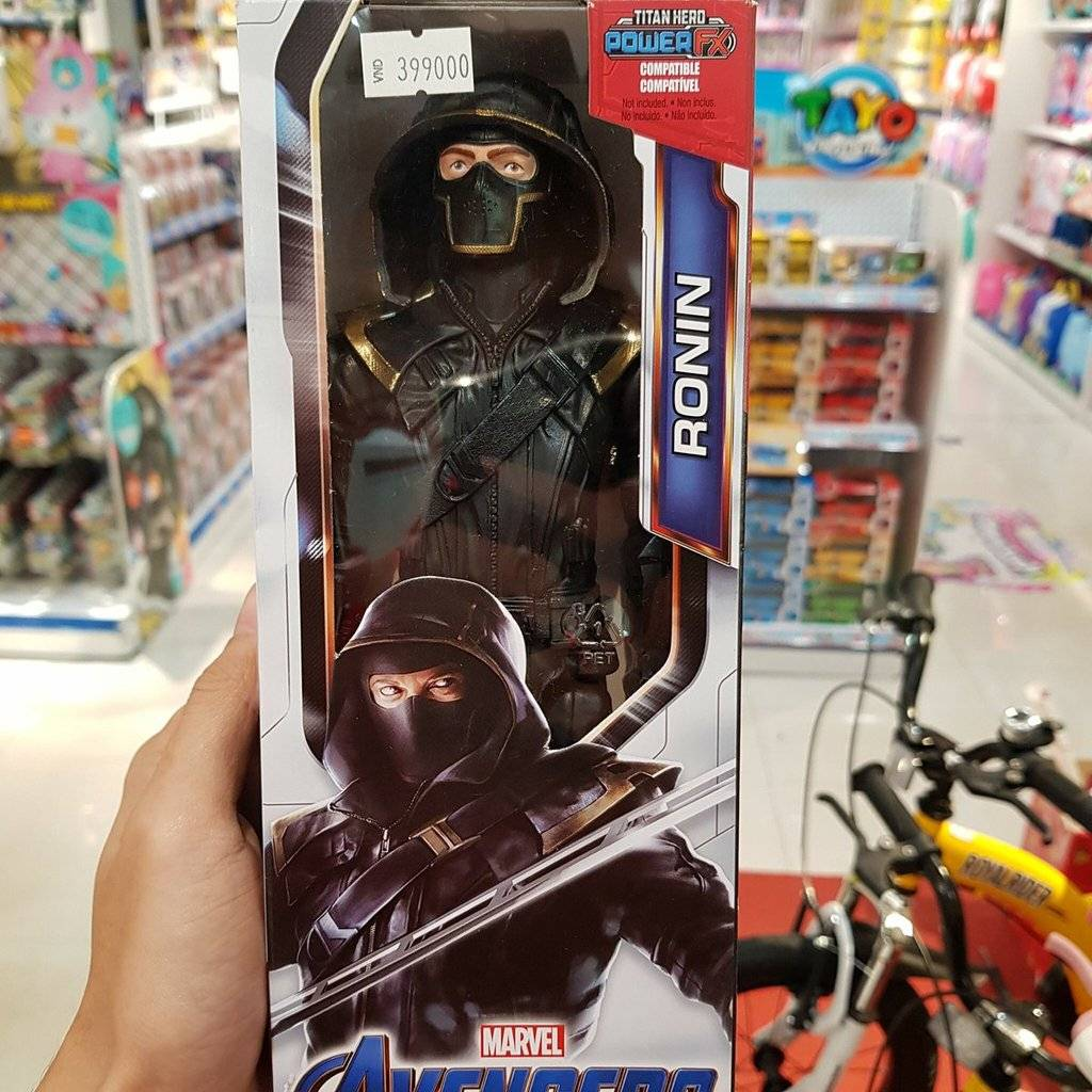 Утечка: игрушки по «Мстителям: Финал» тизерят возвращение «мёртвого» героя 1