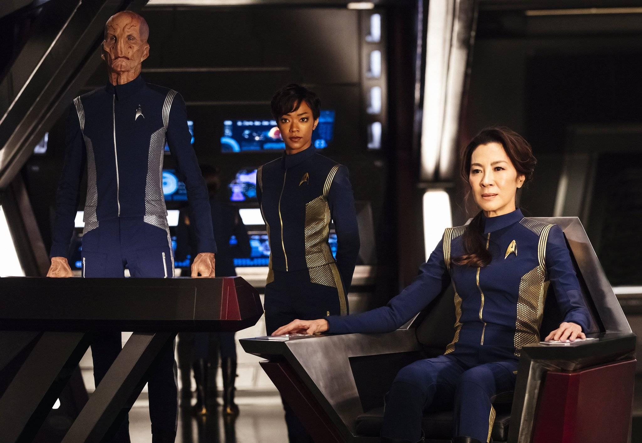 Новый сериал во вселенной «Звёздного пути» расскажет историю Филиппы Джорджиу