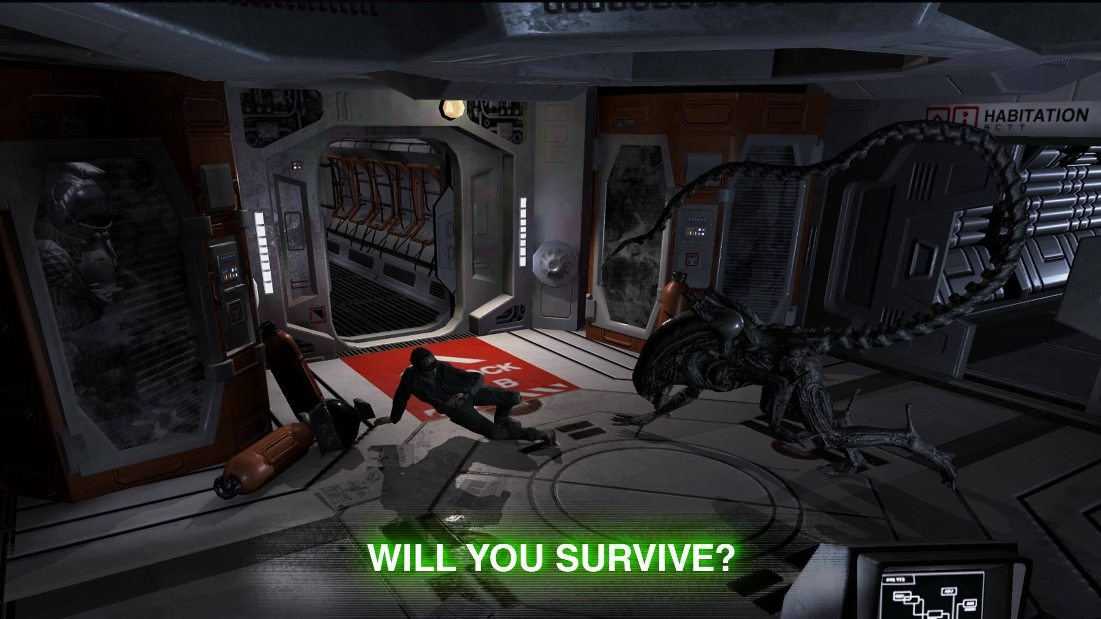 Анонсировали мобильную игру Alien: Blackout 5