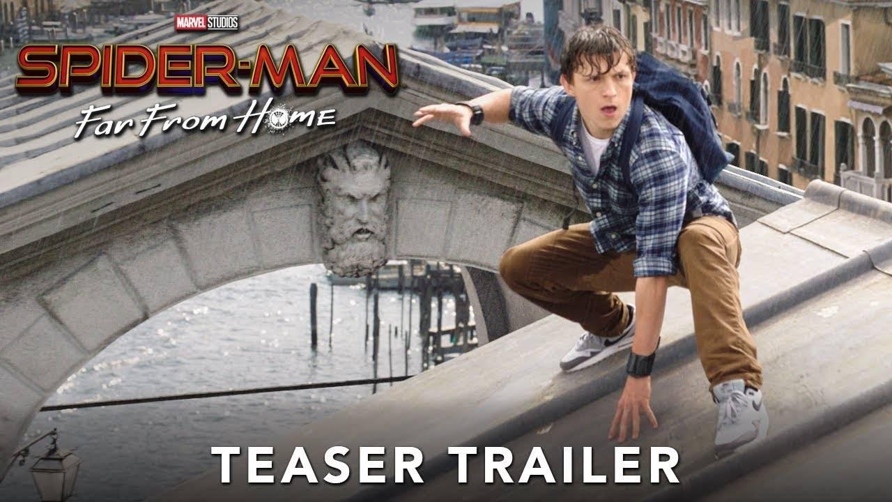 Вышел первый трейлер фильма «Человек-паук: Вдали от дома» 1