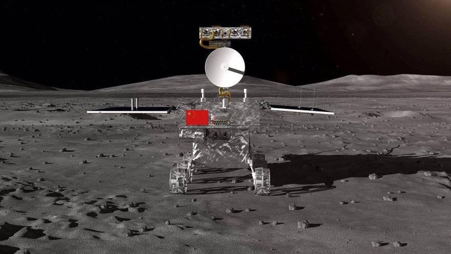 Китайский зонд впервые приземлился на обратной стороне Луны