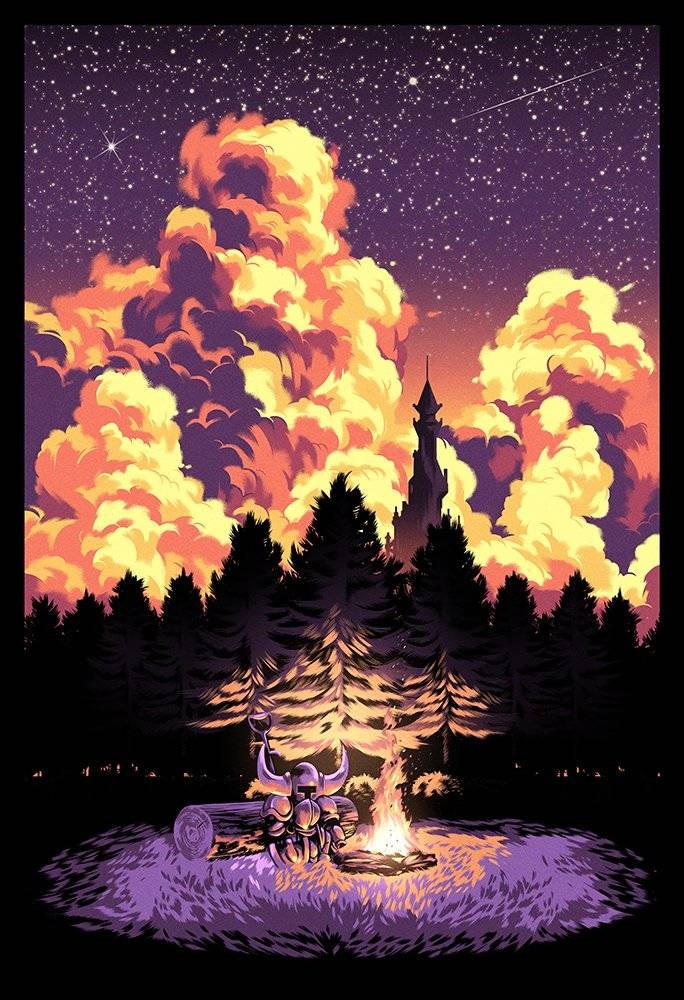 Арт: яркие постеры к нашим любимым видеоиграм 10