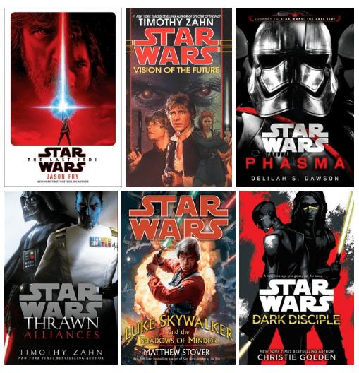 Вот какие романы по «Звёздным войнам» выйдут на русском в 2019-м