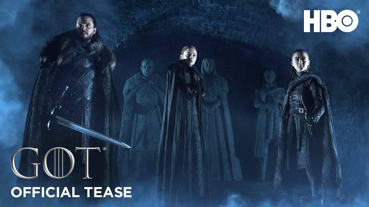 HBO выпустил тизер восьмого сезона «Игры престолов» — сериал вернётся 14 апреля