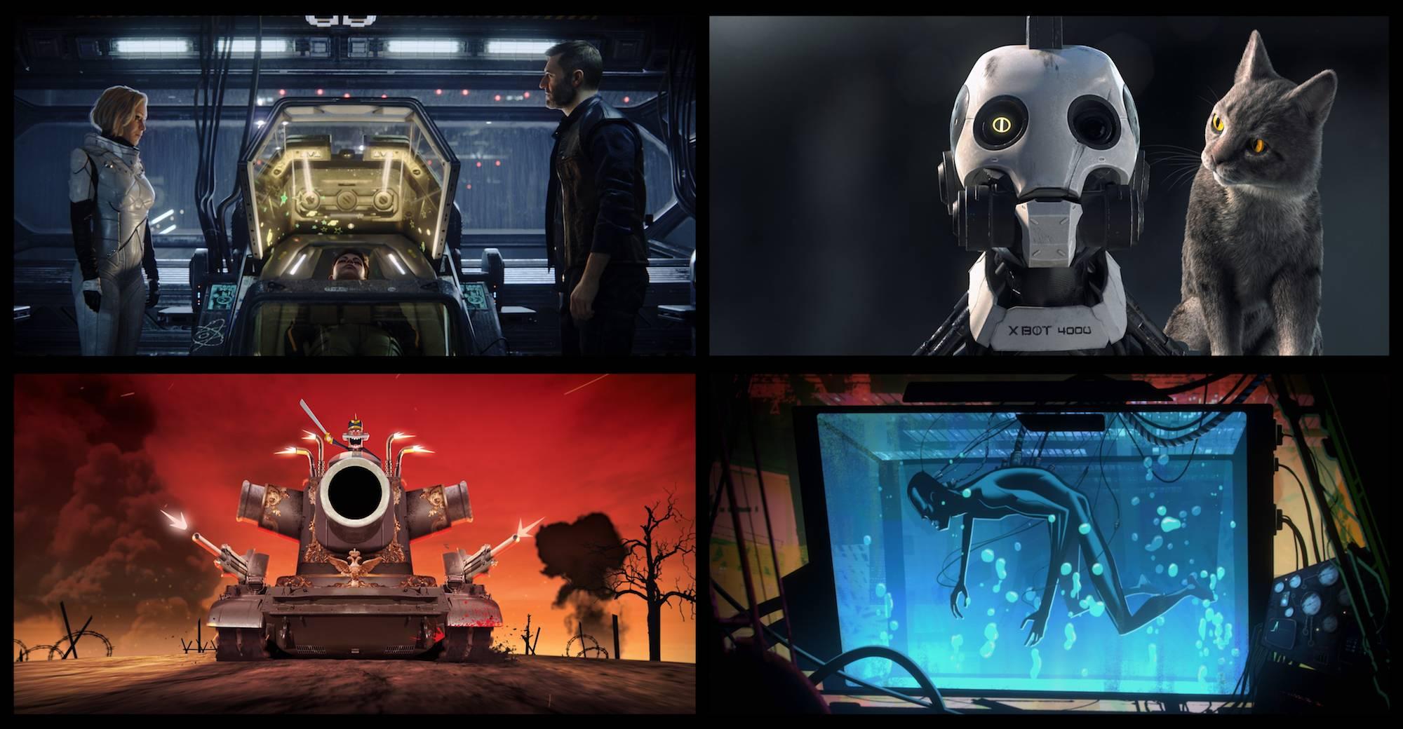 Netflix представил взрослый анимационный проект от Тима Миллера и Дэвида Финчера