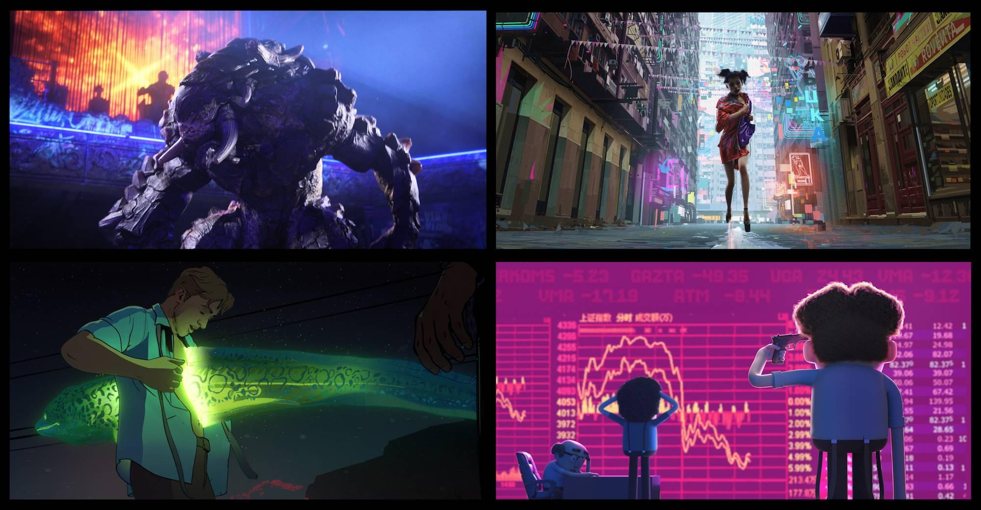 Netflix представил взрослый анимационный проект от Тима Миллера и Дэвида Финчера 2