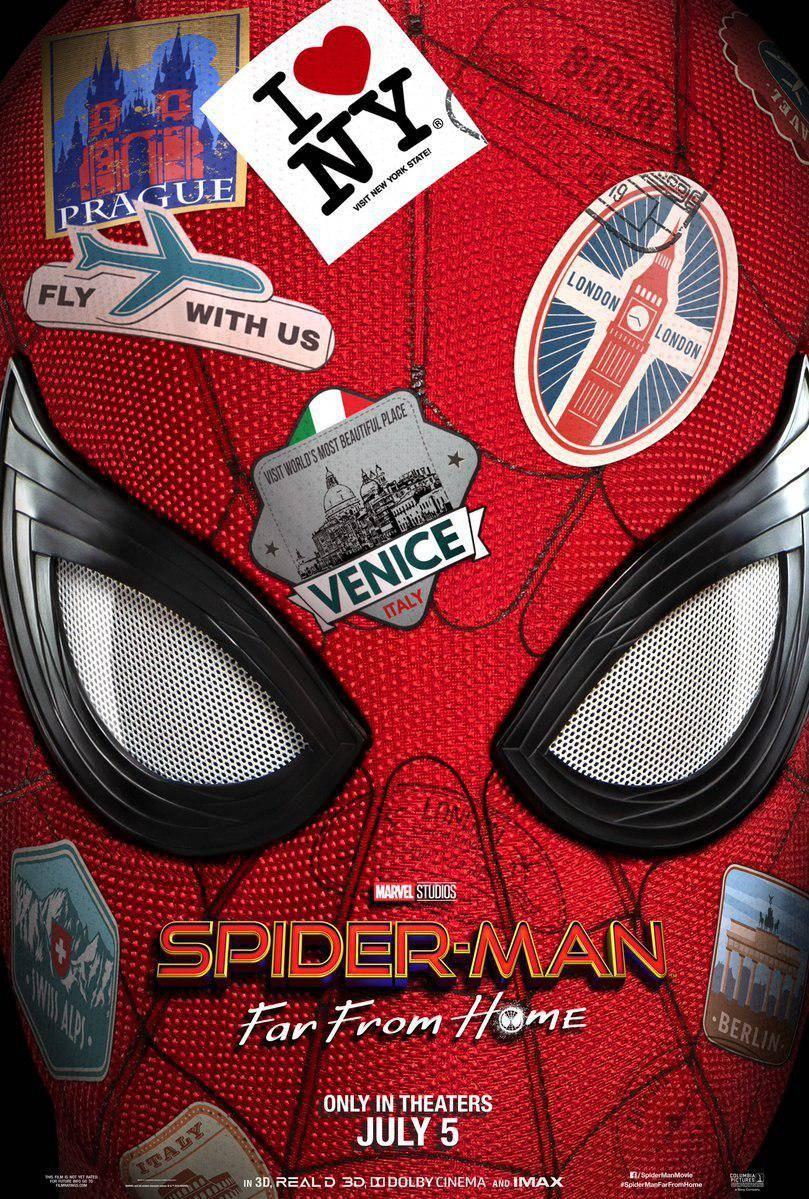 Вышел первый трейлер фильма «Человек-паук: Вдали от дома»