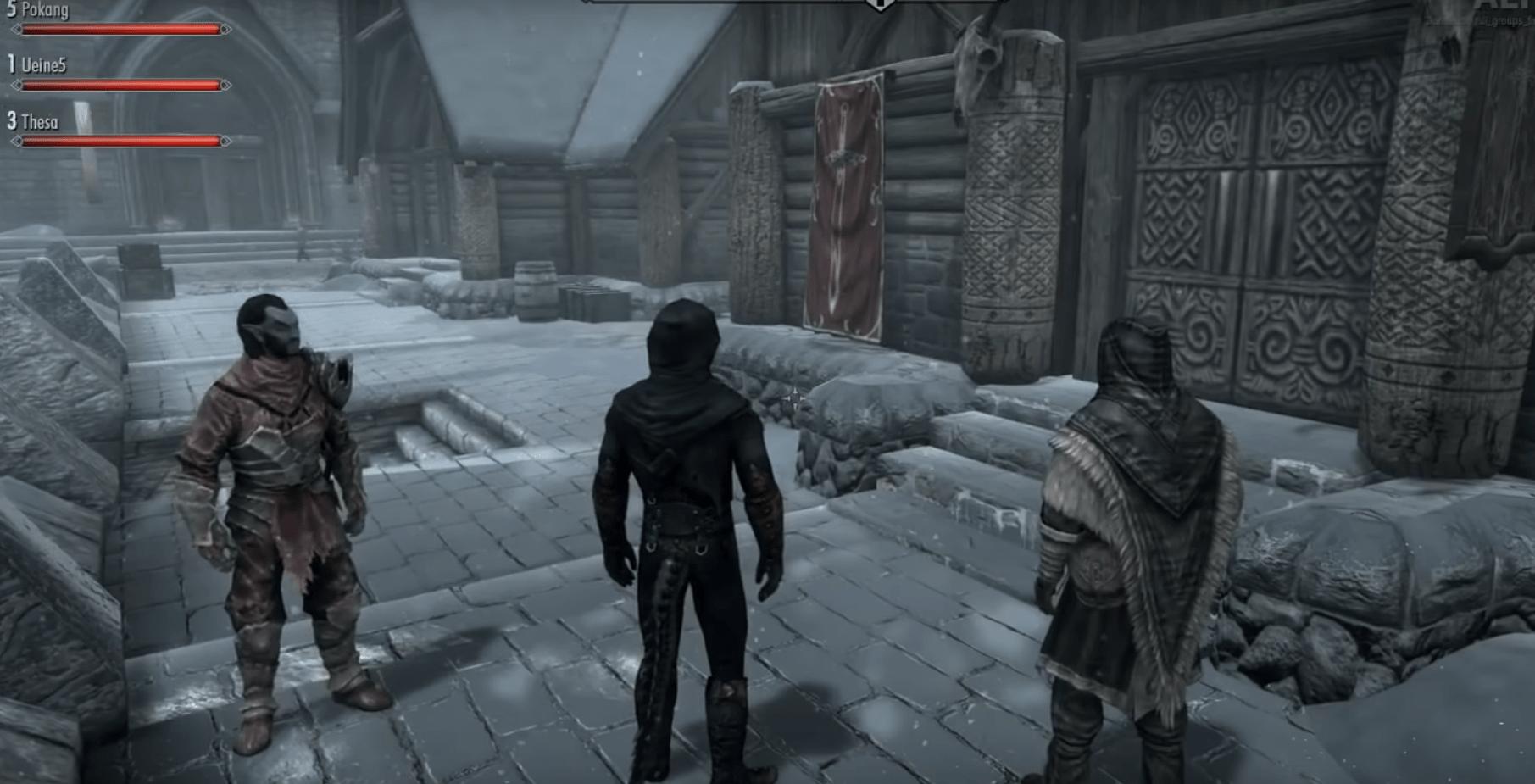 Команда моддеров готовит бета-тестирование мультиплеера для Skyrim