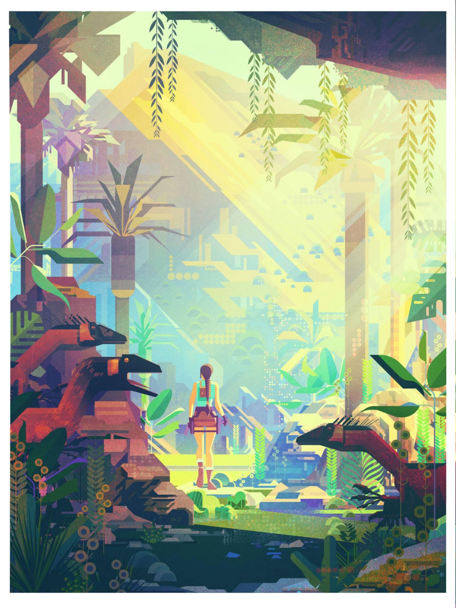 Арт: яркие постеры к нашим любимым видеоиграм 3