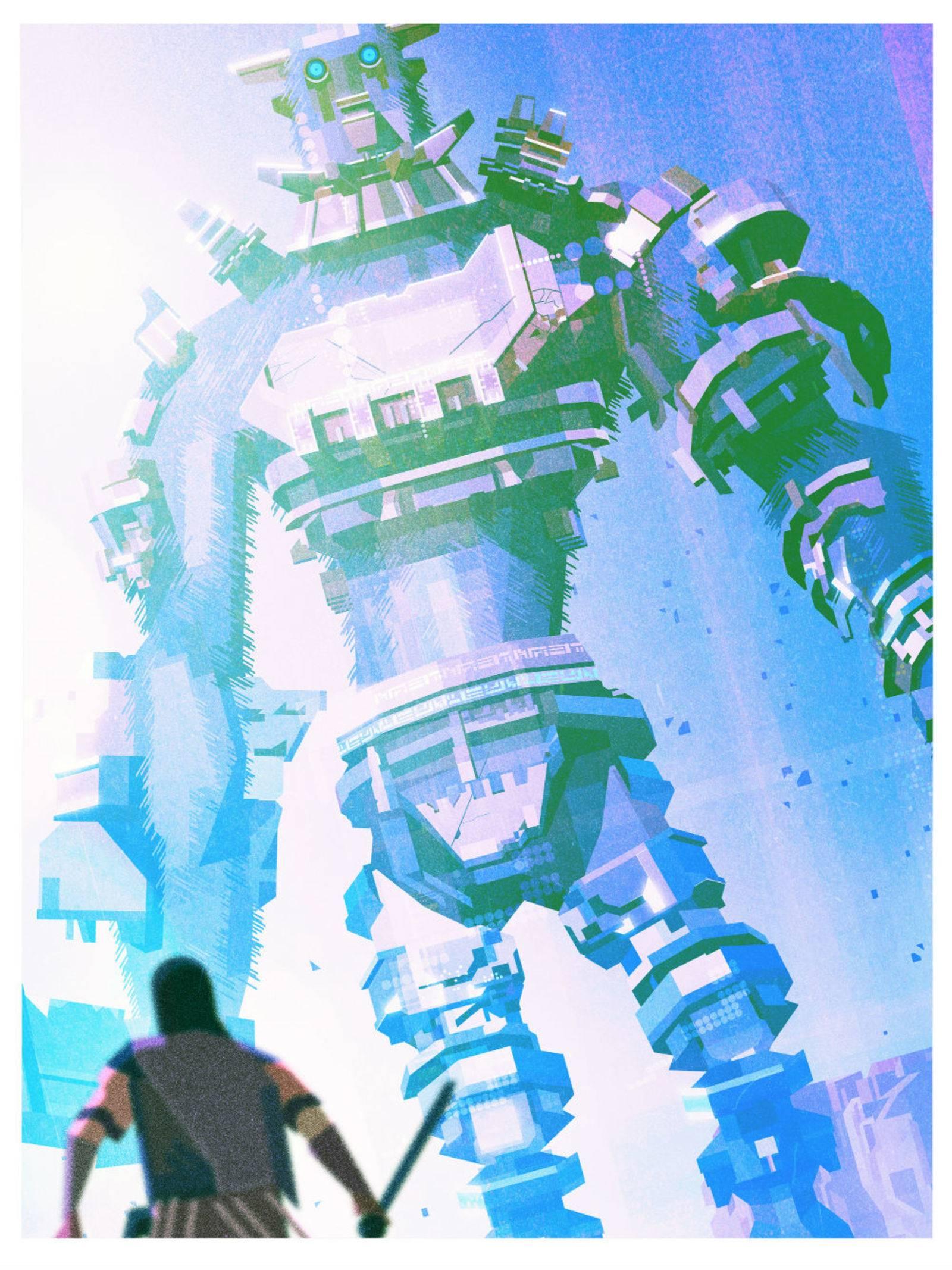 Арт: яркие постеры к нашим любимым видеоиграм 2