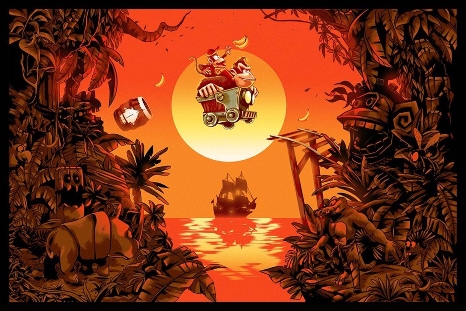 Арт: яркие постеры к нашим любимым видеоиграм 6