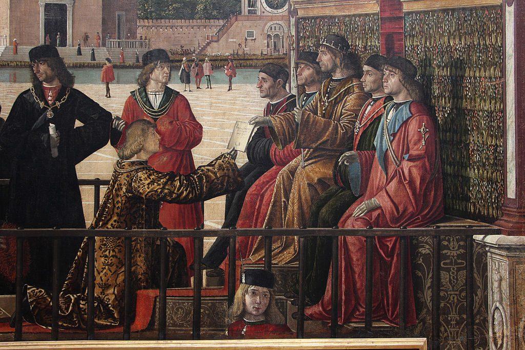 При дворе средневекового короля. Как жили придворные 1