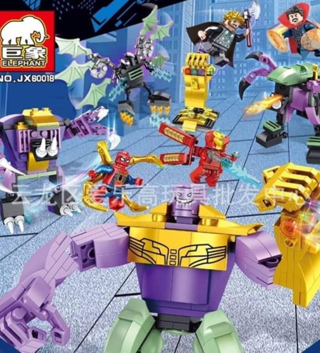 Утечка: игрушки по «Мстителям» показали ещё один меха-костюм и персонажа с когтями 9