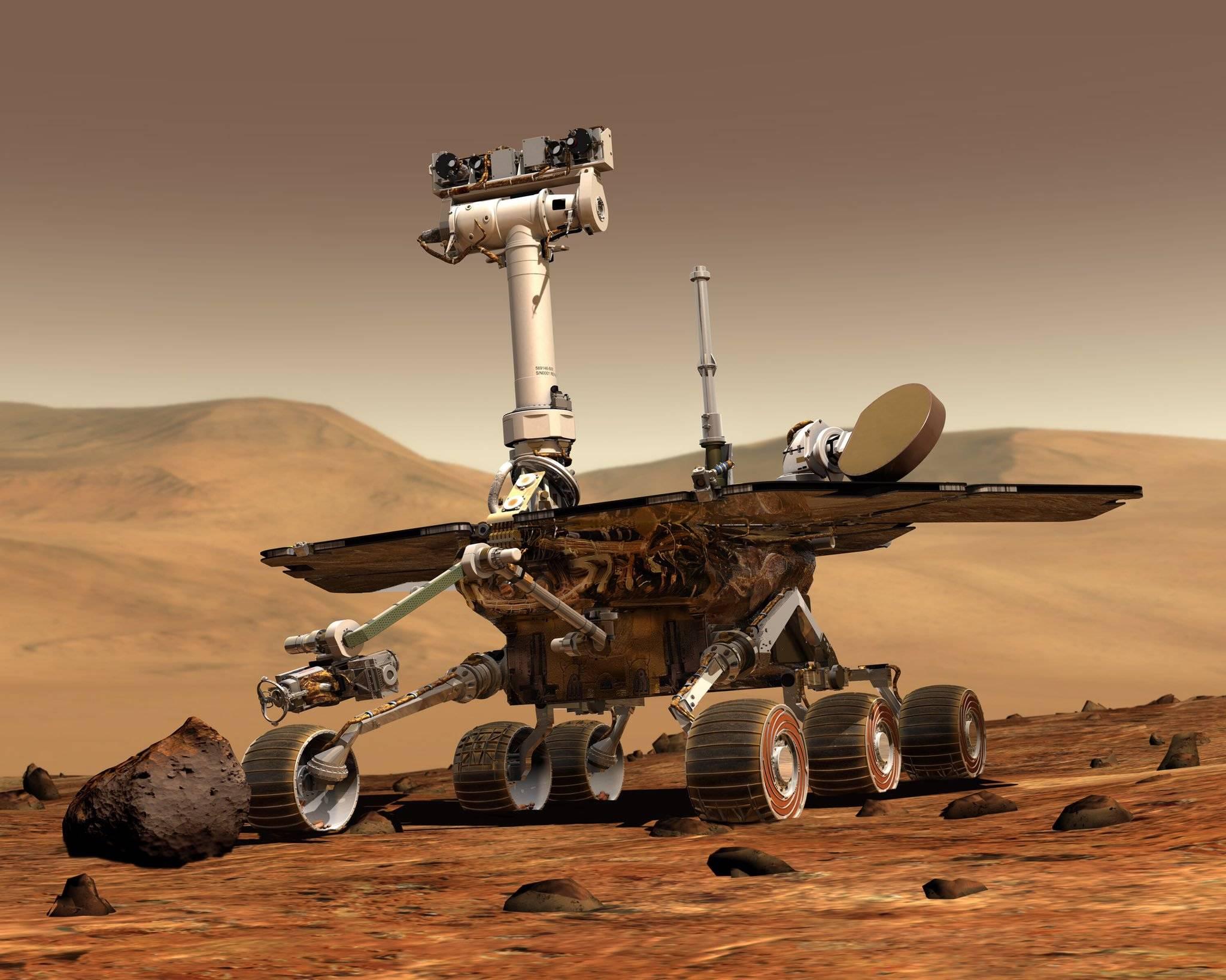 NASA прекратили попытки связаться с марсоходом «Оппортьюнити»