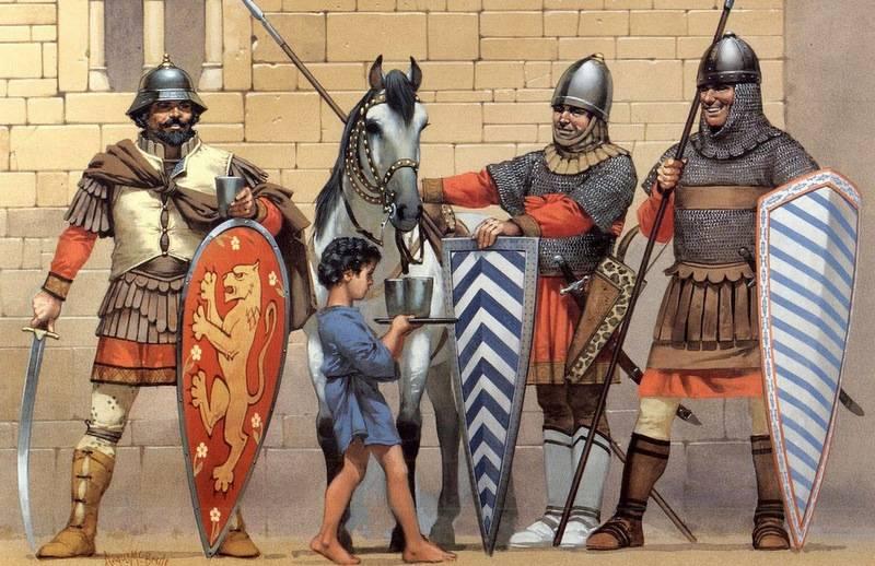 О, щит! Щиты в древности и средневековье 14