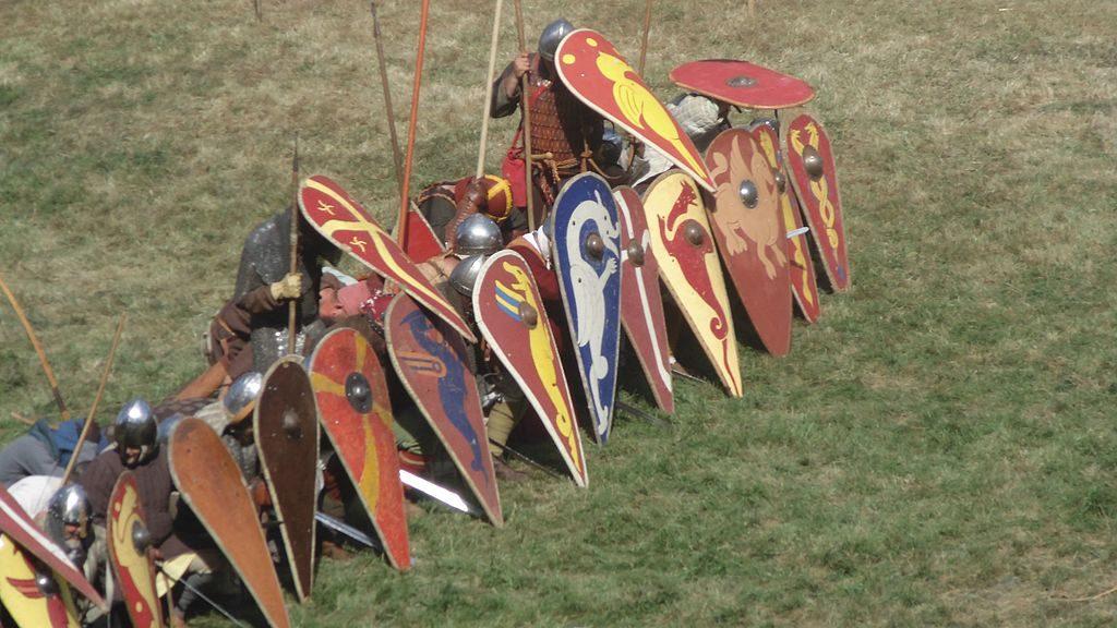 О, щит! Щиты в древности и средневековье 3