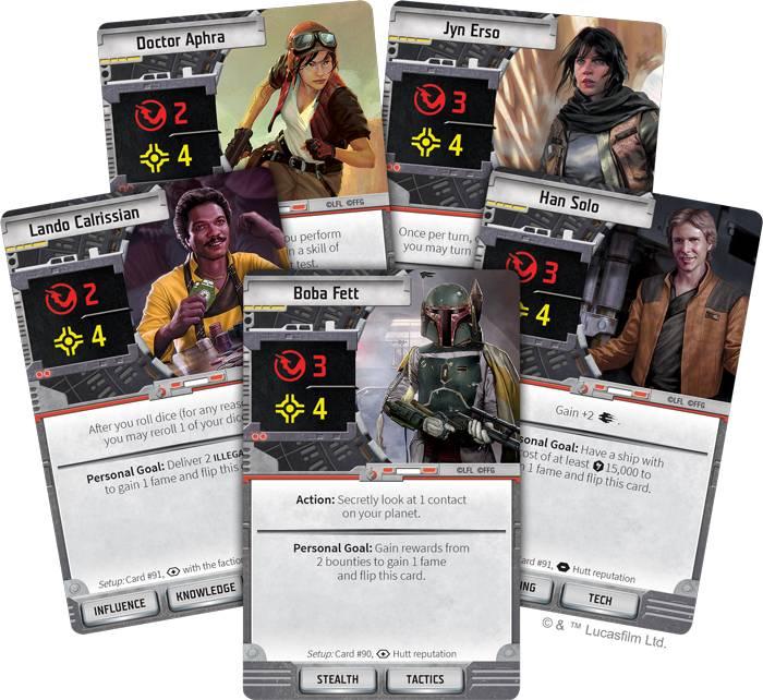FFG представила настолку по «Звёздным войнам» — про охотников за головами и наёмников 1