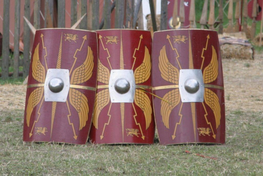 О, щит! Щиты в древности и средневековье 4