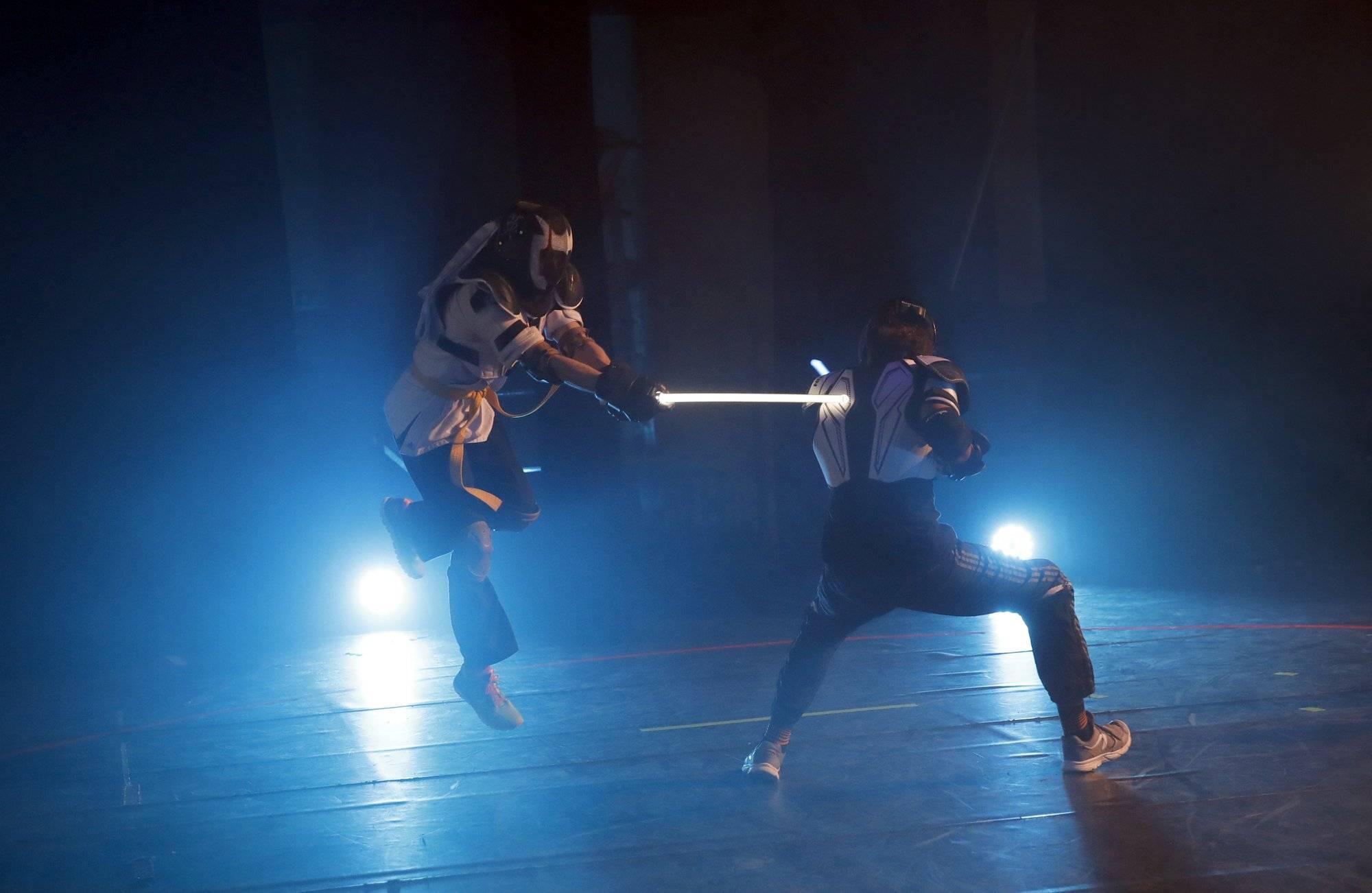 Дуэли на световых мечах во Франции получили поддержку федерации фехтования
