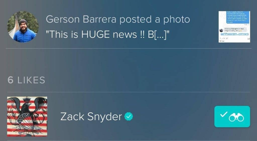 Сын Зака Снайдера намекнул на выход режиссёрской версии «Лиги справедливости» 2