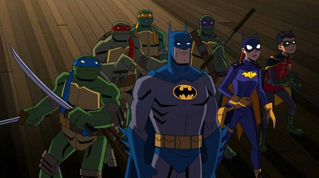 Warner Bros. анонсировала мультфильм-кроссовер Бэтмена и Черепашек-ниндзя