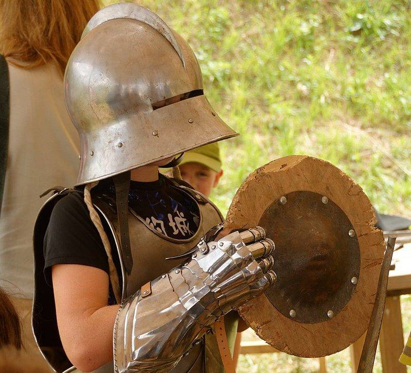 О, щит! Щиты в древности и средневековье 8