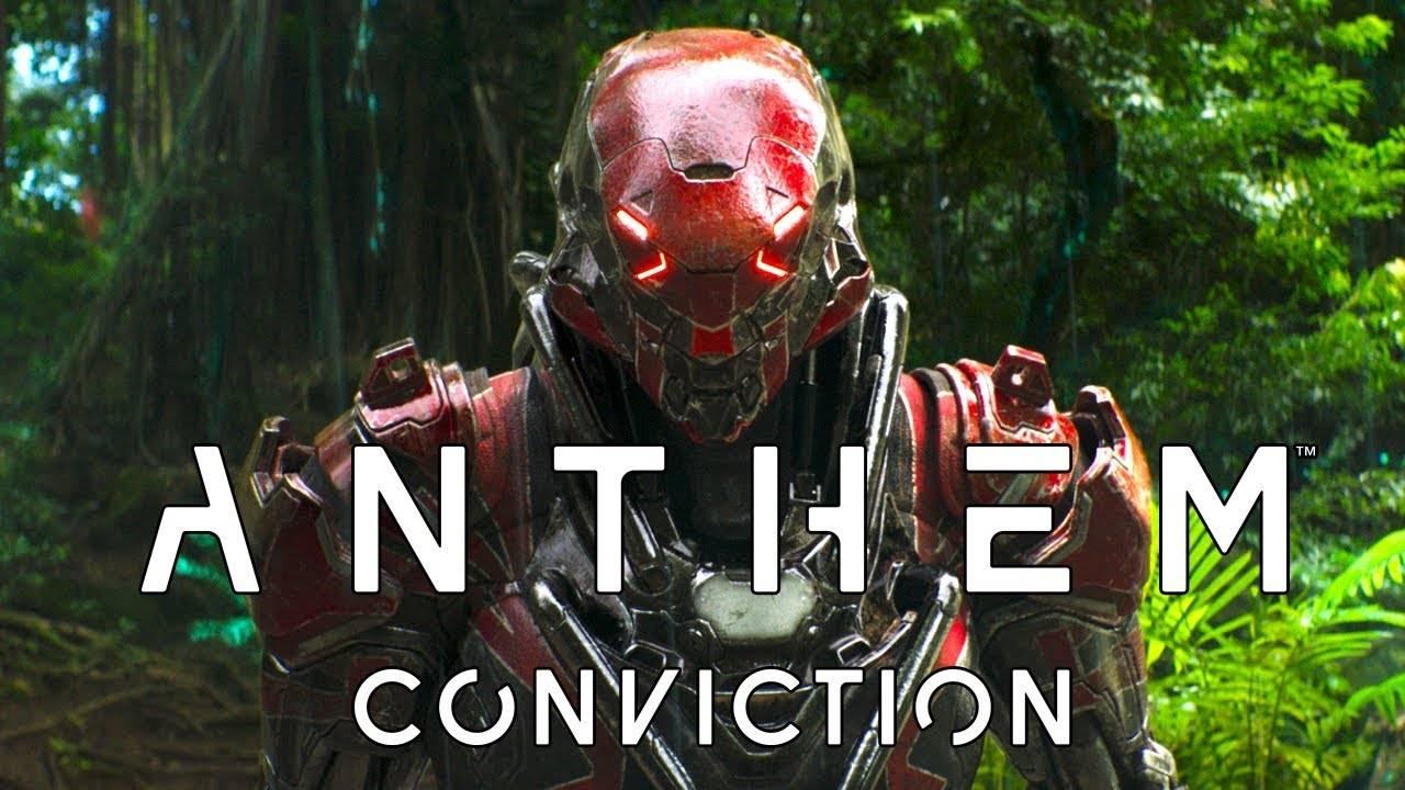 Короткометражка Conviction по вселенной Anthem: Фрилансеры в джунглях