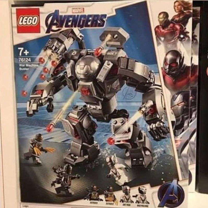 Утечка: игрушки по «Мстителям» показали ещё один меха-костюм и персонажа с когтями 1
