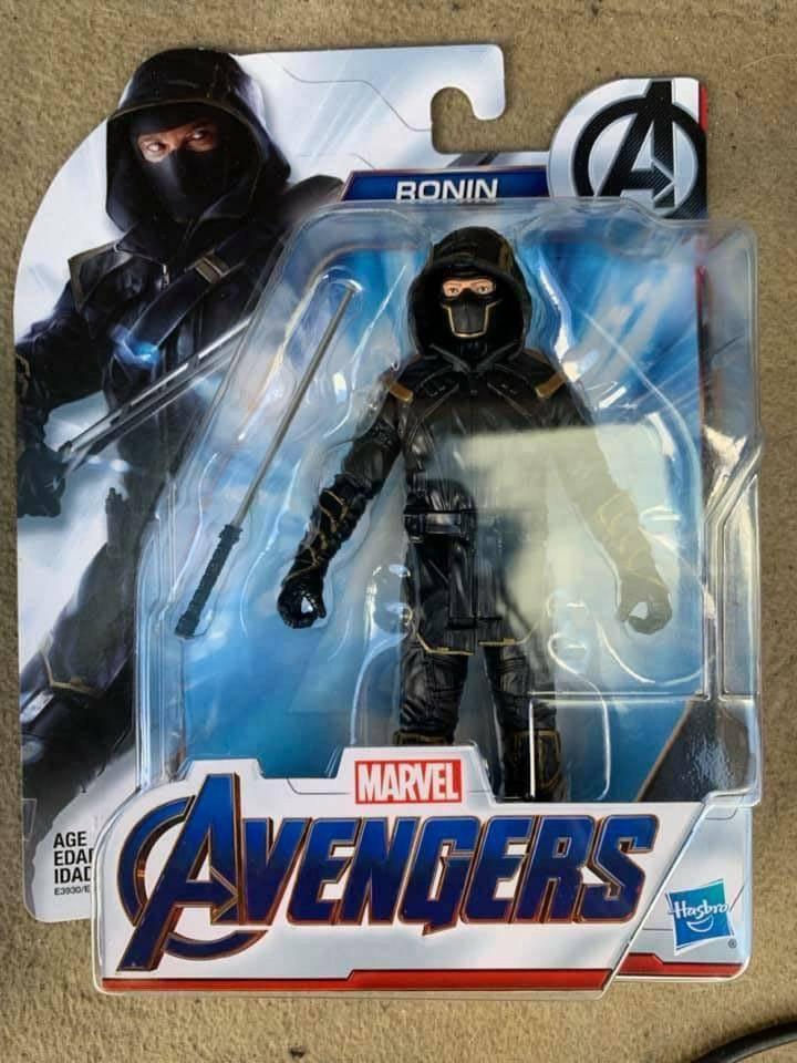 Утечка: игрушки по «Мстителям» показали ещё один меха-костюм и персонажа с когтями 2