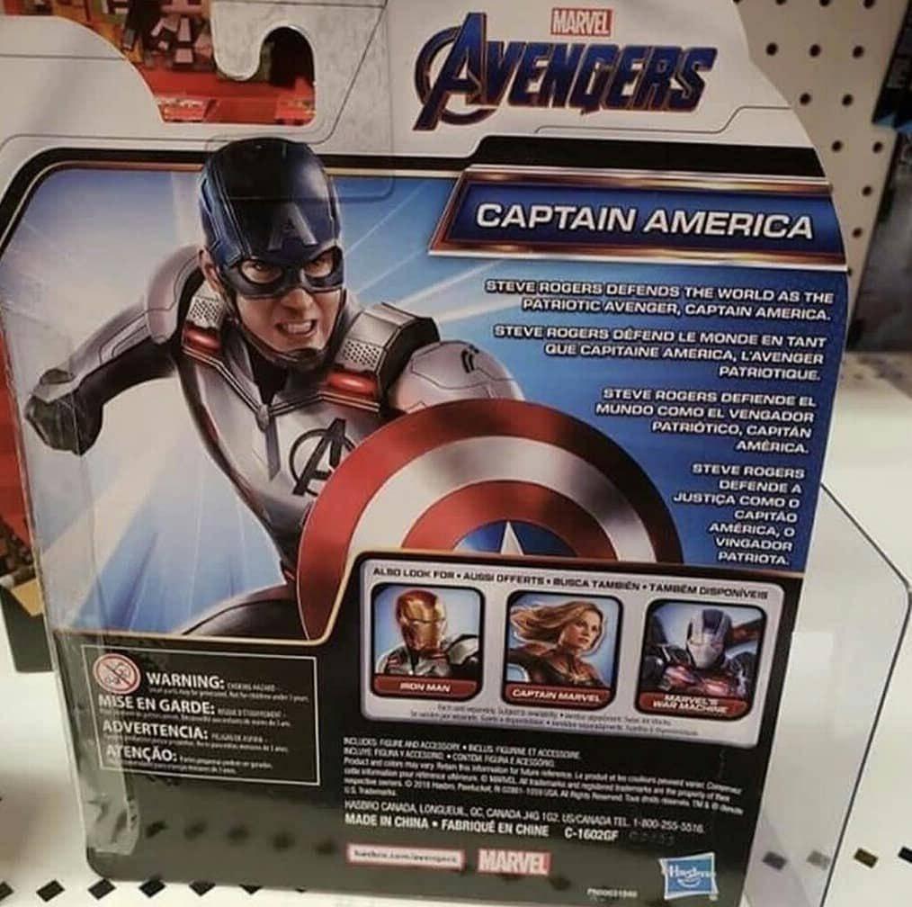 Утечка: игрушки по «Мстителям» показали ещё один меха-костюм и персонажа с когтями 5